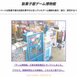 『板橋にある駄菓子屋ゲーム博物館』の画像
