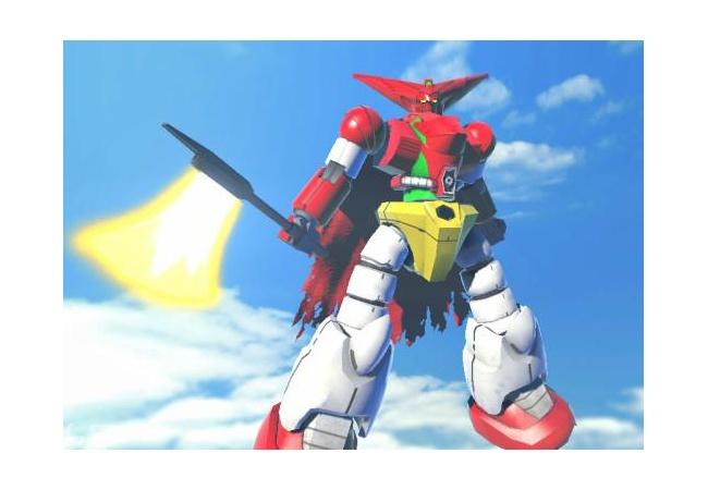 【ガンダムブレイカー2】ぼくのかんがえたガンダム。必殺技はお腹のゲッ拡散ビーム砲です。