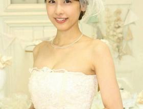 加藤綾子アナのウエディングドレス姿wwwwwwwww