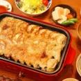 息子、アルティメット餃子を作る【焼き餃子定食】