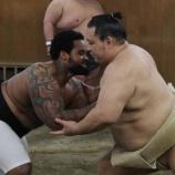 『【MLB/相撲】ブルワーズのプリンス・フィルダーが友綱部屋に体験入門 三段目力士を投げ飛ばすも魁皇を押し込めず「全然動かなかったよ」』の画像