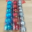 2021 ダイソーのクリスマスボール