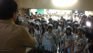 AKB48G研究生コンサート、ゼッケン着用