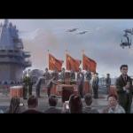 【中国】台湾・蔡英文が中国空母で「降伏文書の調印式」を描いた絵が中国ネットで話題に [海外]