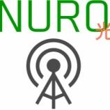 『家庭回線最速!NURO光契約とレビュー』の画像