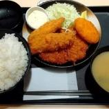 『2週連続で大判ヒレかつ&サーモンフライ(2枚)定食@松のや!【株主優待・クーポン】』の画像