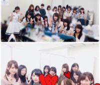 【欅坂46】乃木坂46の生駒ちゃんが欅ちゃん達の楽屋に遊びに来てるー!