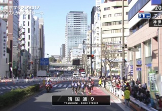 【国際化】東京マラソンの先頭集団wwwww