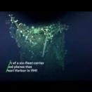 【ニュース動画】 空母「加賀」とみられる船体発見