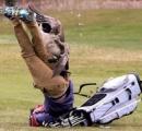 【鳥】雁は人間よりも強し?、ゴルファー襲いなぎ倒す 米