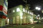 近畿大阪銀行交野支店の内装工事が夜通しやってた!