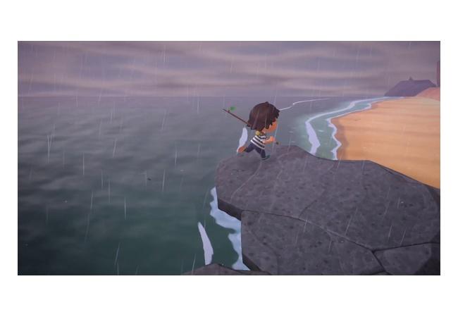 【悲報】あつ森、雨