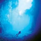 『ジンバブエの青の洞窟チノイ・ケーブ。』の画像