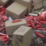 【動画】中国、押収した膨大な量の粗悪な「偽タバコ」、処分場で一斉廃棄される! [海外]