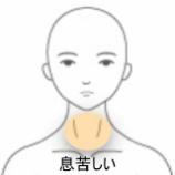 『喉の異物感 室蘭登別すのさき鍼灸整骨院 症例報告』の画像