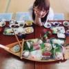 木崎ゆりあの豪華食事を公開