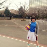 朝長美桜、バスケやるのにボールを3つも持ってるんだけど...これは反則ですわwwww【画像あり】 アイドルファンマスター