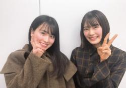 【きゃわきゃわ】大園桃子×清宮レイ、笑顔が素敵すぎwwwww