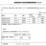 『いずれも不検出 戸田市 学校給食で使用した野菜の放射性物質検査結果』の画像