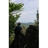 『岩を登ってまいりました。』の画像