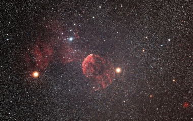 『ふたご座のクラゲ星雲(IC443)』の画像
