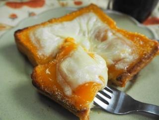 たまらない甘じょぱさの安納芋羊羹トースト♪