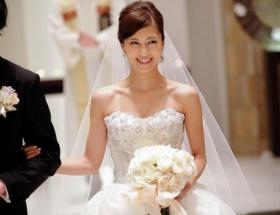 安田美沙子が挙式、幸せいっぱい!熊田、夏川ら240人が祝福