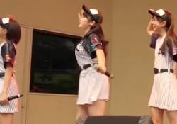 こぶしファクトリー広瀬彩海ちゃんのGカップおっぱいが揺れまくる!GIF動画あり!