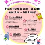 『戸田市立新曽南多世代交流館 第1回さくらパルまつり 3月25・26日(土日)開催』の画像