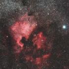 『シグマ 150mmF2.8 APO MACROによる北アメリカ&ペリカン星雲コラボ』の画像