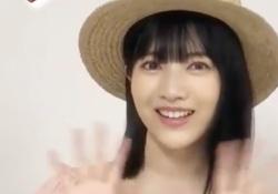【神GIF】ちゃっかりと可愛いアイドルができる林瑠奈ちゃんぐうかわwwwwww
