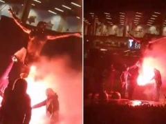 イブラヒモビッチさん、銅像と自宅が放火される・・・