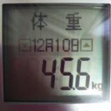 『隔日24時間ファスティングに変更【45.6kg】』の画像