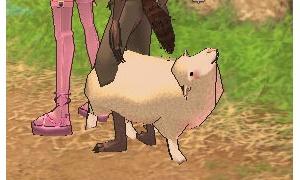 羊の首が180度ねじれて上を向くへ(^o^)へ   Σ|へ メキッ!