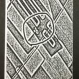 『KING JIM「ロルト」+二値化+トリミング+手書き=隠れミッキー!』の画像