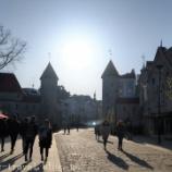 『バルト三国旅行記4 【エストニア編】トームペアの丘の展望台からタリン旧市街を眺める』の画像