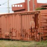 『放置貨車 ワム80000形ワム181454』の画像