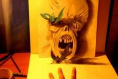 【画像あり】17歳の天才少年がエンピツのみで書いた3D絵がヤバイ これは完全にリアル