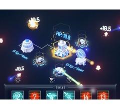 基地アップグレード防衛ゲーム Void Defense