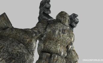 古代ノルドのセンチネルゴーレム