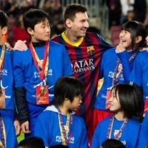 【東日本大震災】メッシが被災した少年少女をバルセロナに招待