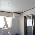 天井&廻り縁のペンキ塗りしました!ビフォーアフター