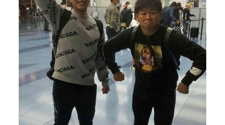 【 画像 】巨人・田口と鍬原の私服のハマらなさが凄い!?