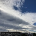 巻積雲と高積雲
