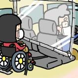 『車いすの私がお世話になる福祉タクシーの新型コロナウイルス対策』の画像
