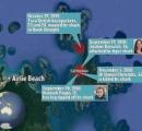 サメが観光客2人を襲い 一人は足首から先を持っていかれる:グレートバリアリーフ