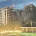 【動画】米国、マイアミで12階建てマンションが倒壊!その瞬間!住民51人が不明