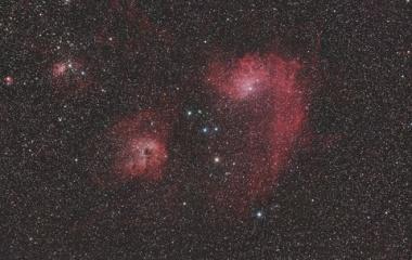 『聖地で捉えたぎょしゃ座の勾玉星雲と愉快な仲間たち ☆彡』の画像