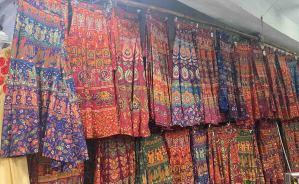 インドのマーケットでお買い物