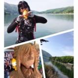 『前日の木崎湖探索♪』の画像
